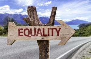 'positive action' in discrimination